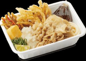 丸亀製麺のランチの持ち帰りの【丸亀うどん弁当】は種類も豊富