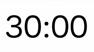 開催時間は30分