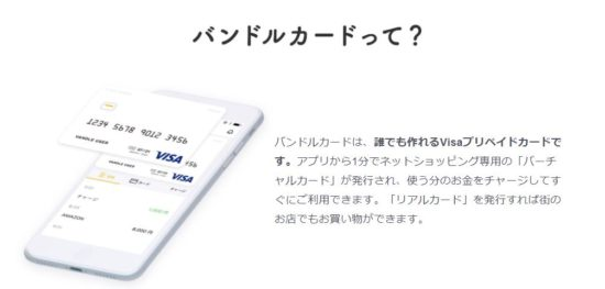 dtvのバンドルカードは支払い方法に使える